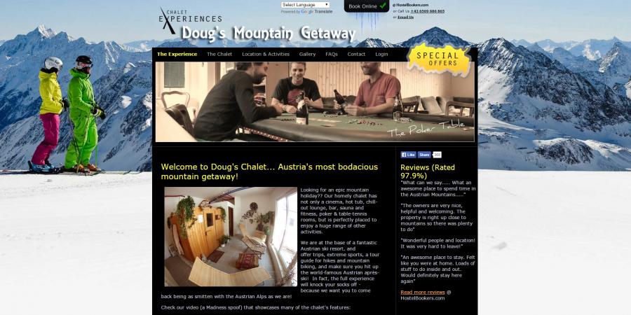 Chalet Experiences - Doug's Mountain Getaway
