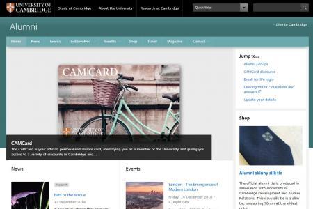 University of Cambridge - Alumni