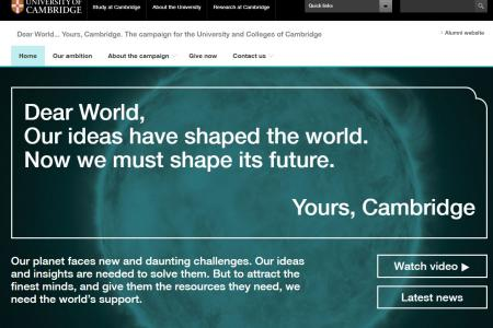 University of Cambridge - Campaign