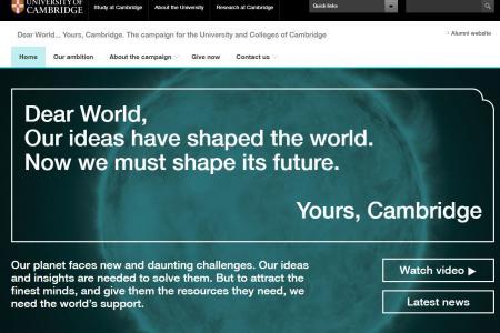 University of Cambridge - Campaign